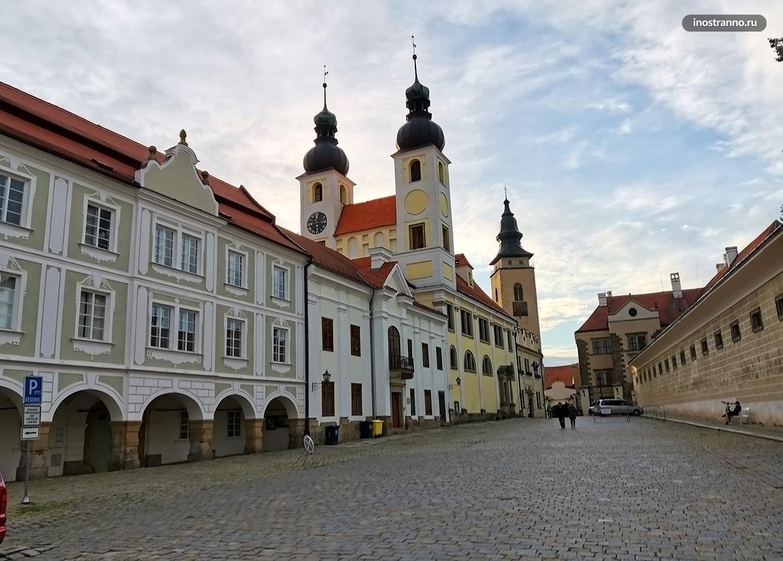 Что посетить в Чехии - объект Всемирного наследия ЮНЕСКО Тельч