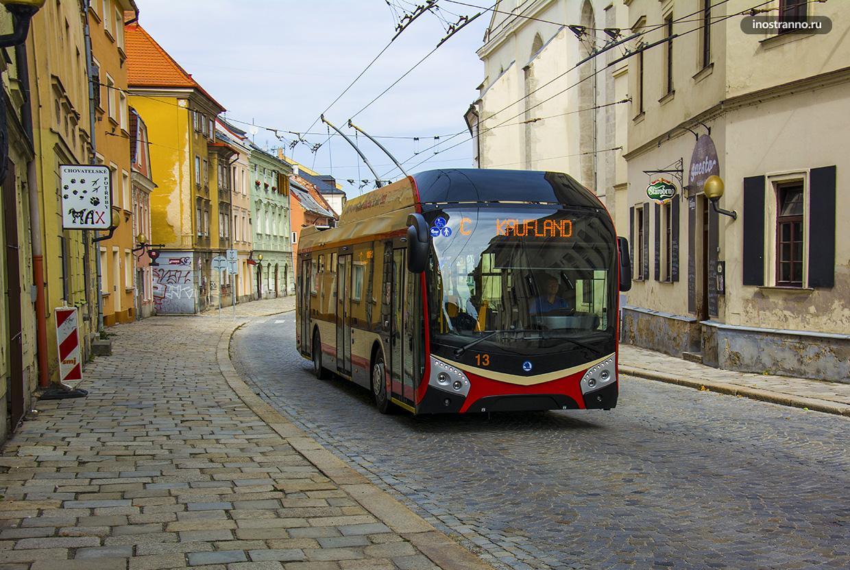 Йиглава общественный транспорт и как добраться