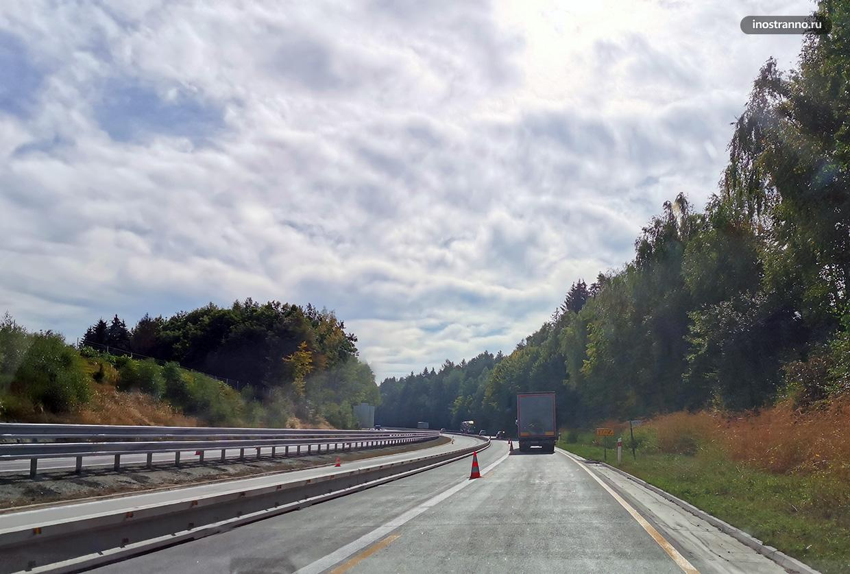 Автомагистраль в Чехии