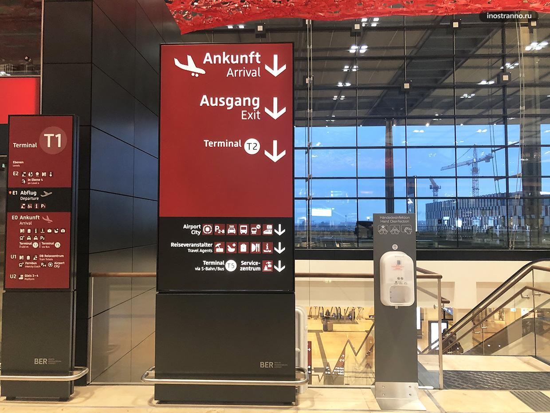 Главный аэропорт Берлин Бранденбург как добраться и транспорт