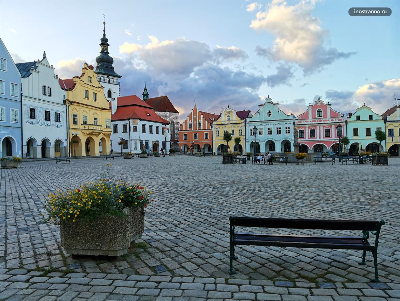Красивая чешская архитектура