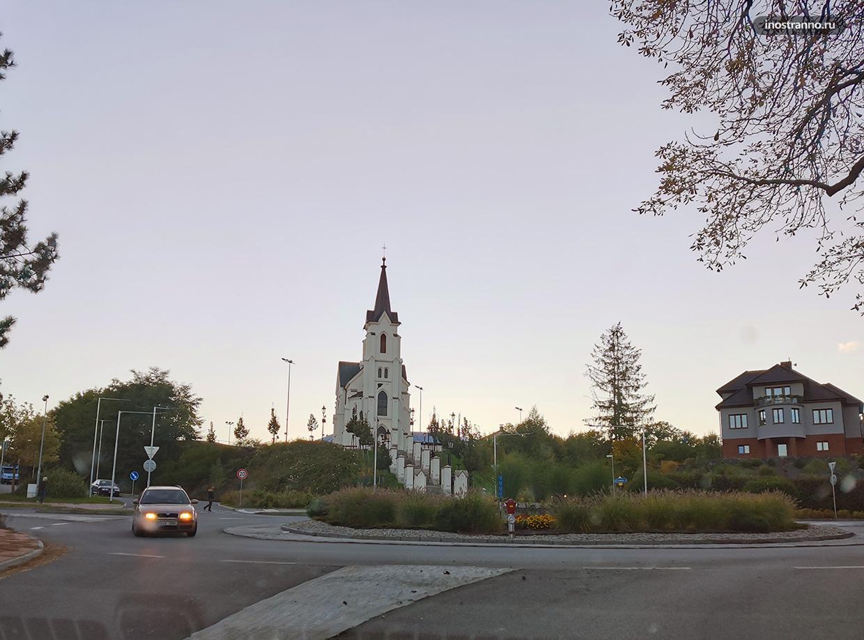 Часовня Святого креста в Пельгржимове