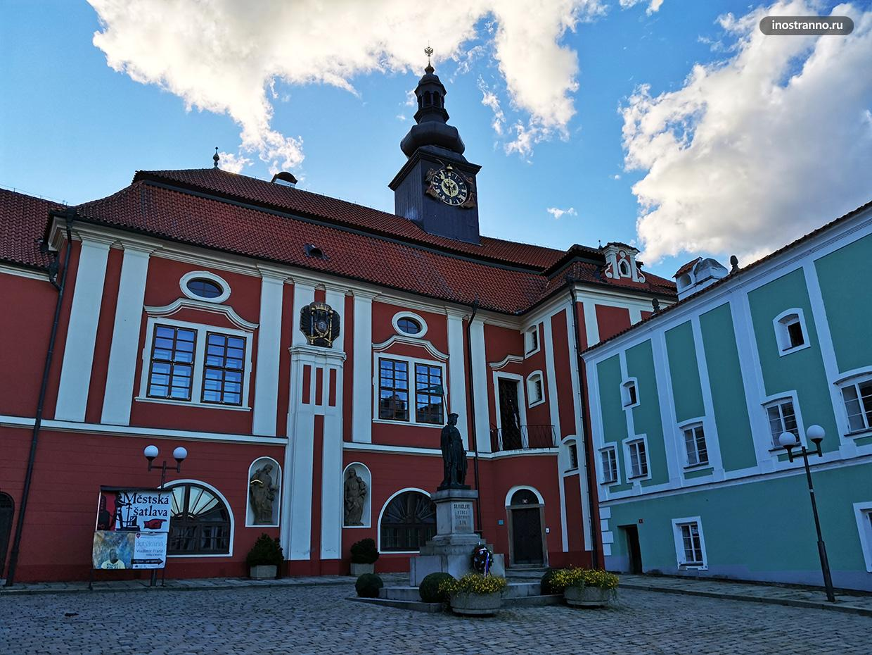 Замок Ржичанских в Пельгржимове