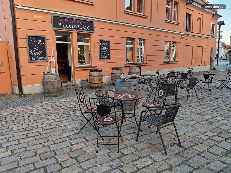 Уютное кафе в Чехии