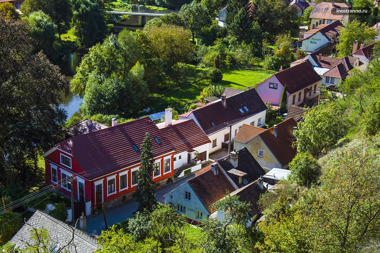 Традиционные чешские домики