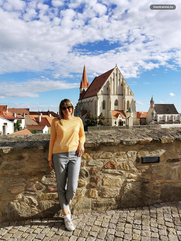 Девушка в южной Чехии