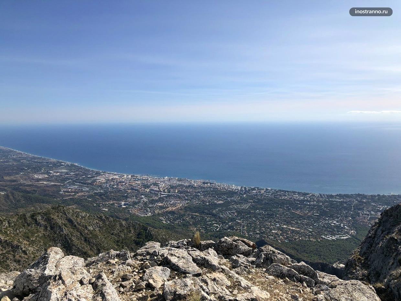Панорамный вид на Марбелью