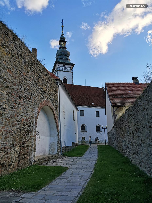 Городские стены Пельгржимова