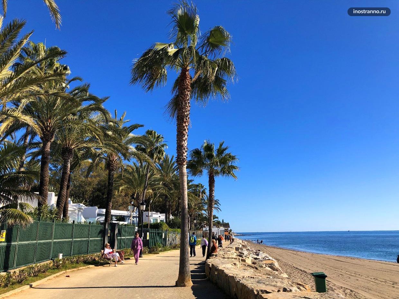 Набережная в Испании