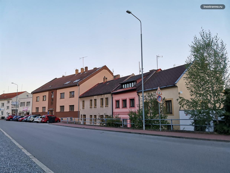 Традиционный чешский городок