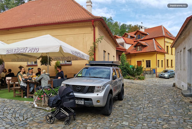 Прогулка по Тршебичу в южной Чехии