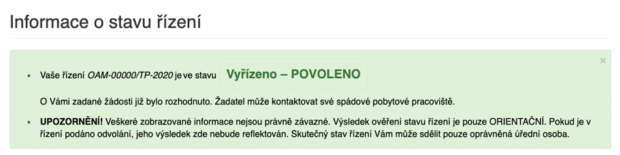 Заявка на ПМЖ Чехии одобрена