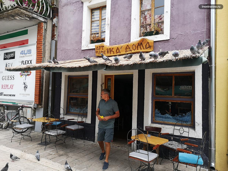 Оформление кафе в Черногории