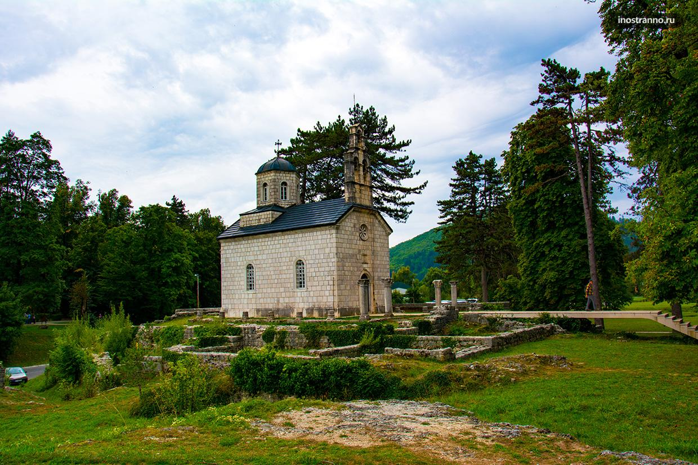 Церковь Рождества Богородицы на Джипуре в Цетине