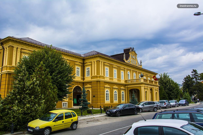 Музеи Цетине и Черногории