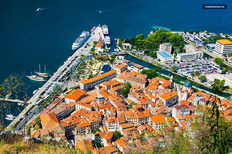 Котор туристический город Черногории