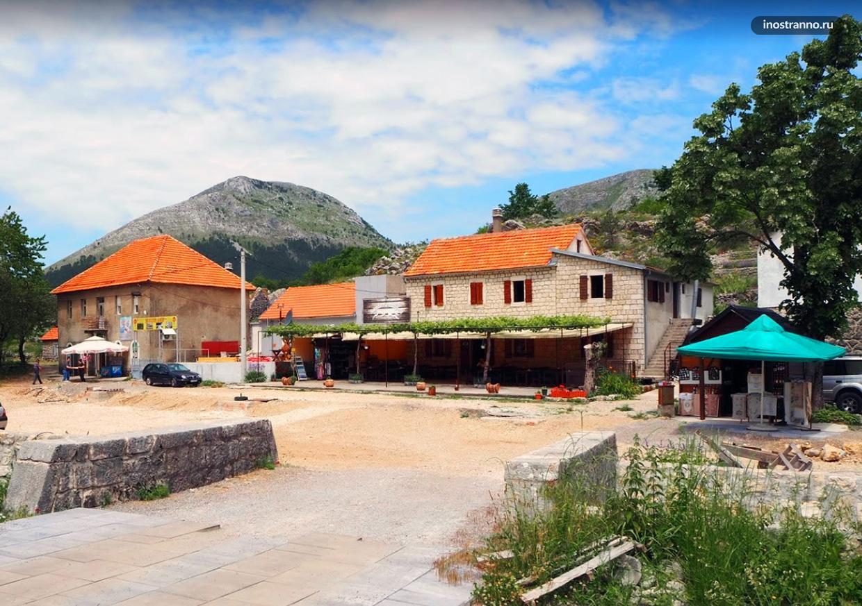 Негуши традиционный город Черногории