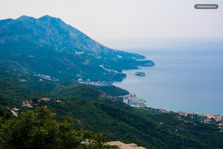 Смотровая площадка в Черногории
