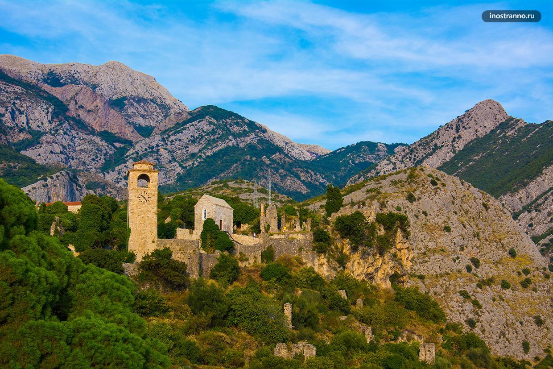 Старый Бар исторический город Черногории