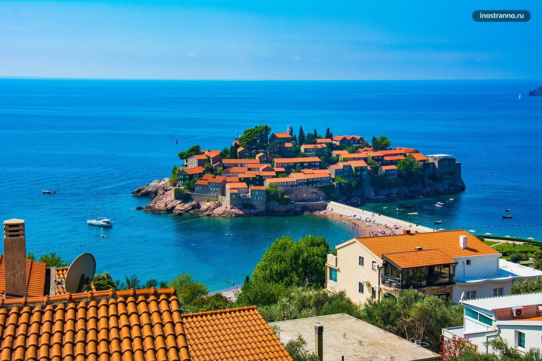 Остров Свети Стефан в Черногории
