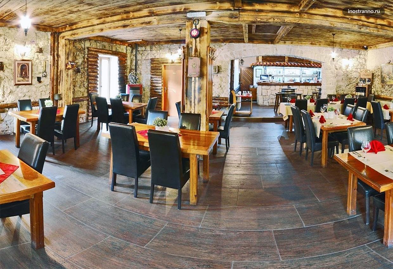 Где поесть в Цетине рестораны, бары и кафе