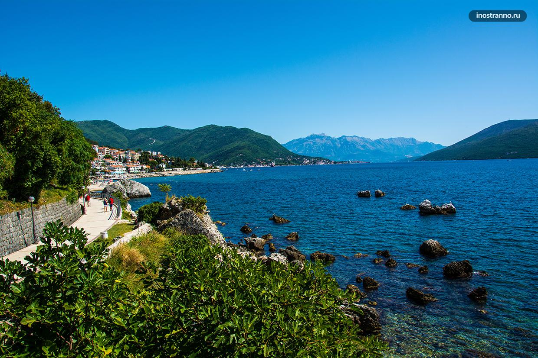 Красивые пейзажи Адриатического моря