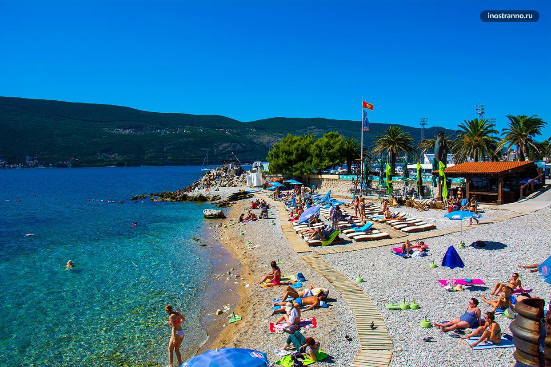 Лучшие пляжи в Герцег-Нови