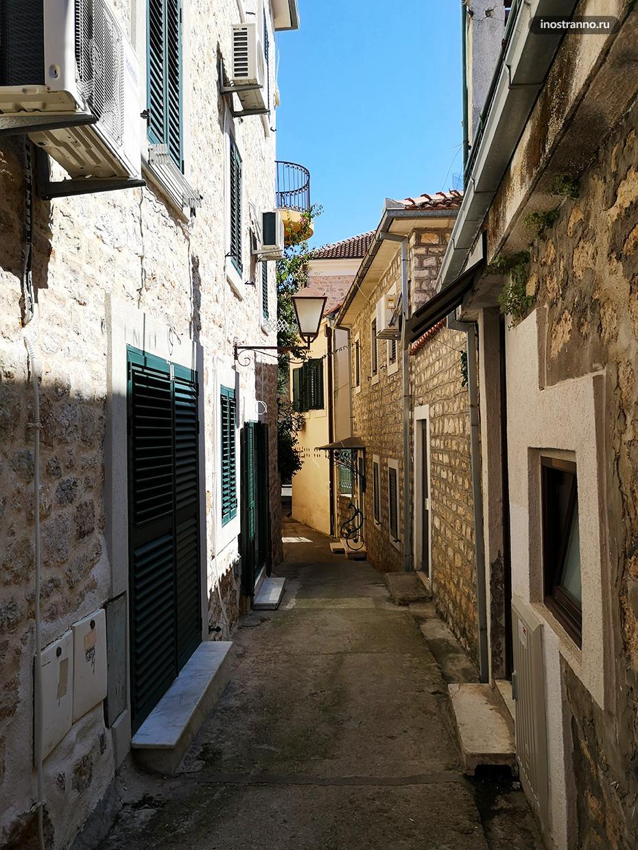 Венецианские улочки в Черногории