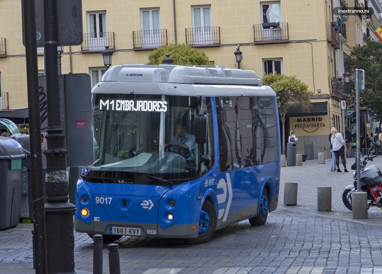 Автобусы Аликанте городской общественный транспорт