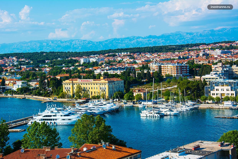 Лучшая Марина для яхта в Хорватии