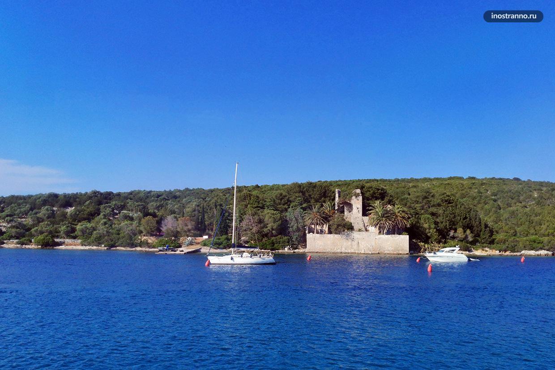 Остров Иловик в Хорватии