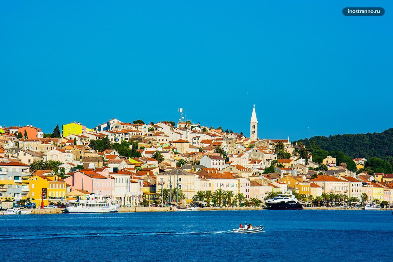 Мали-Лошинь красивый остров в Хорватии
