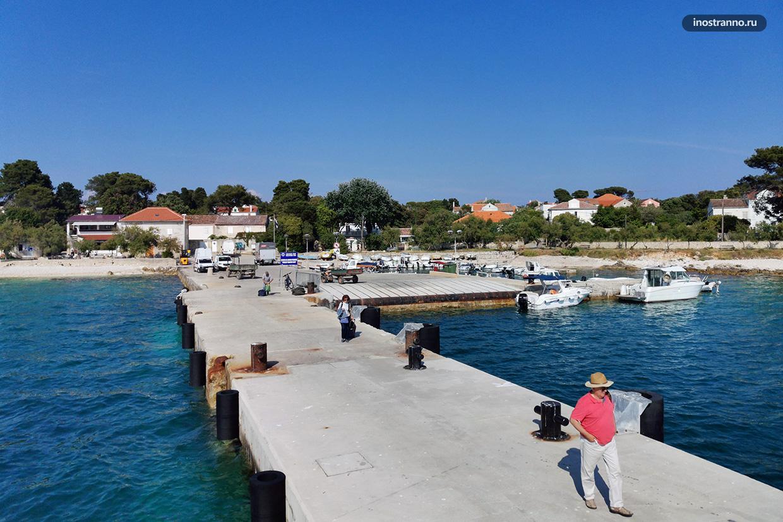 Остров Силба в Хорватии