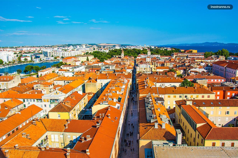 Какие города посмотреть в Хорватии Задар