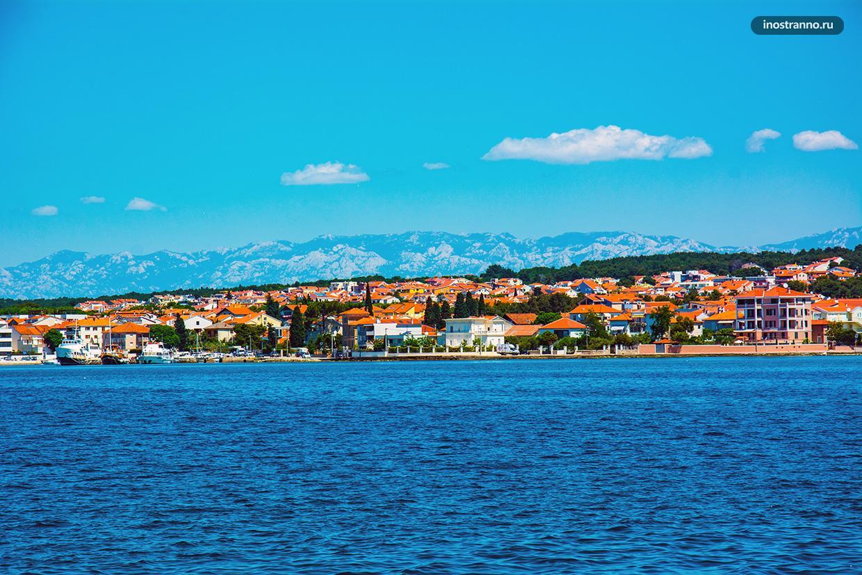 Панорама города Задара