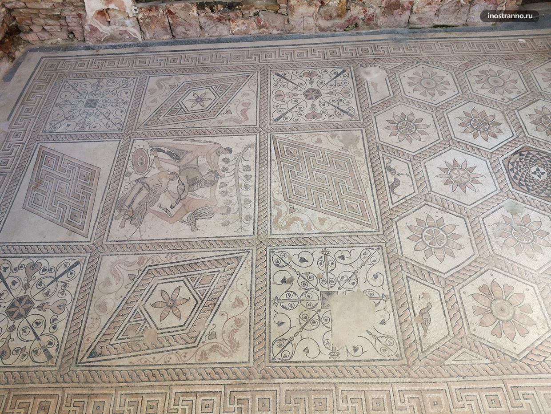 Античная мозаика в Пуле