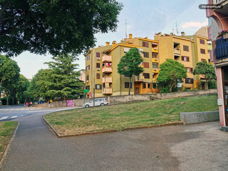Многоквартирные дома в Пуле