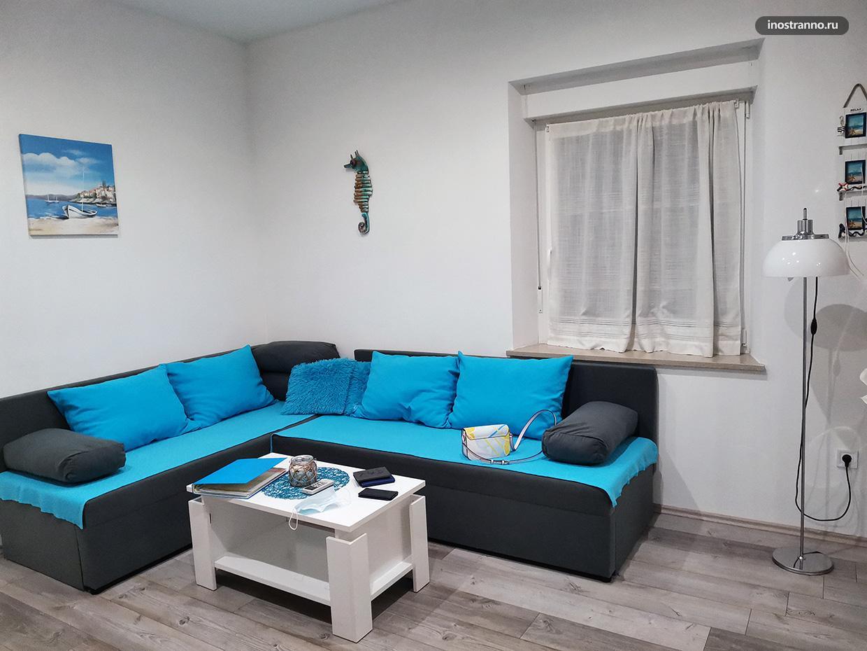 Квартира в Пуле в Средиземноморском стиле