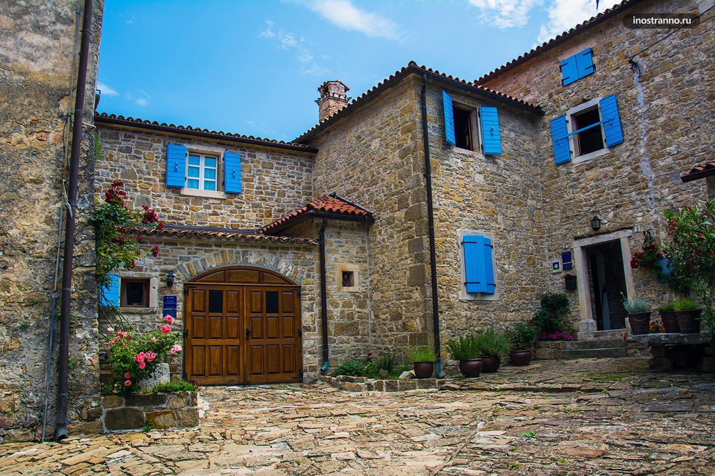 Красивые домики в Истрии
