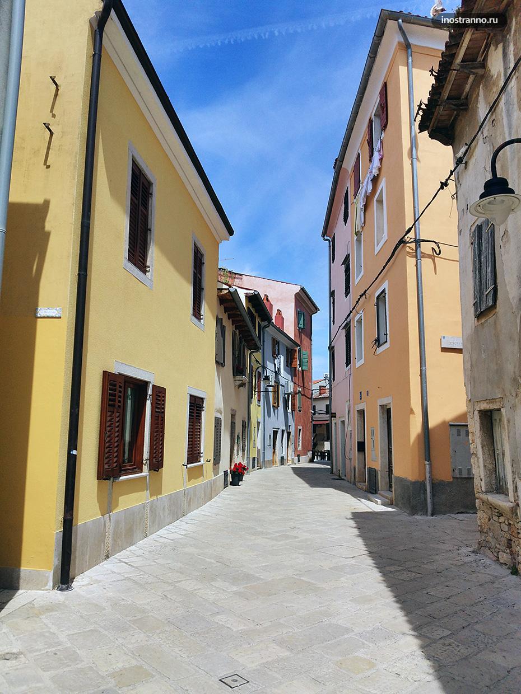 Красивый старинный городок в Хорватии