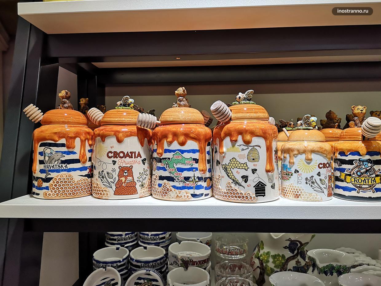 Хорватские сувениры из керамики