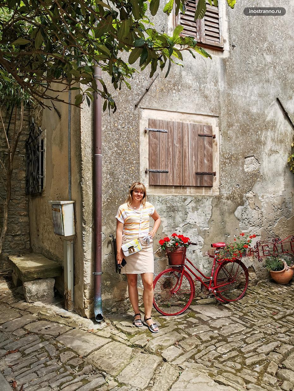 Крохотная романтичная деревушка в Хорватии