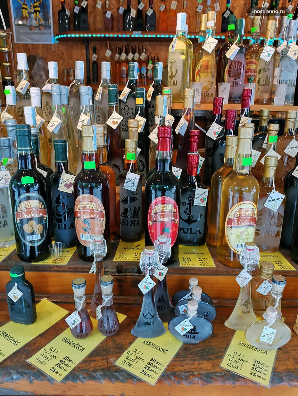 Хорватские вина на рынке