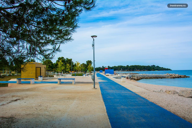 Пляж Фажана отзыв
