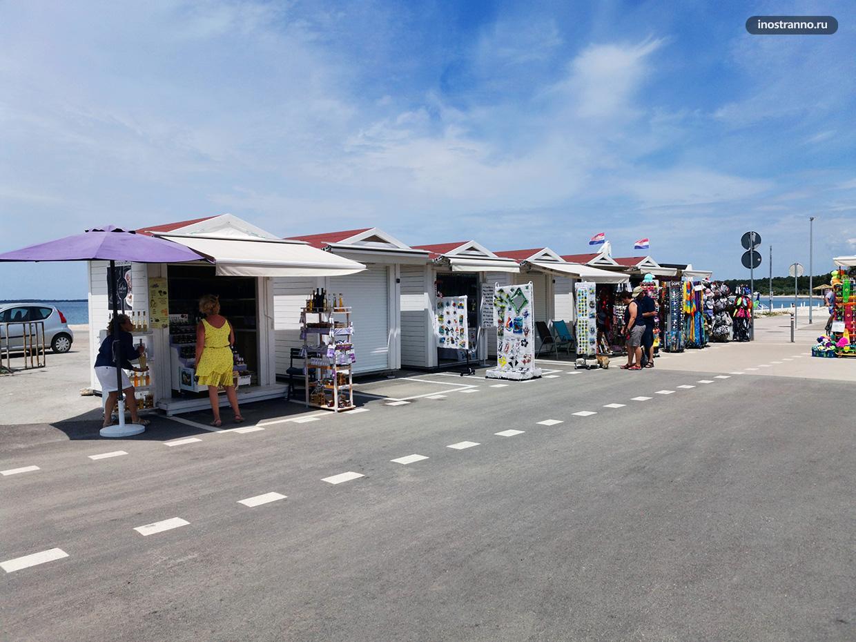 Фажана набережная в Хорватии