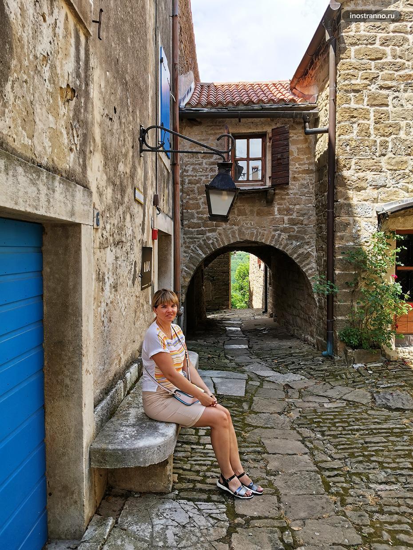 Фотосессия в средневековом хорватском городе