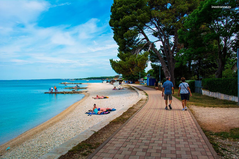 Пляжи Пулы
