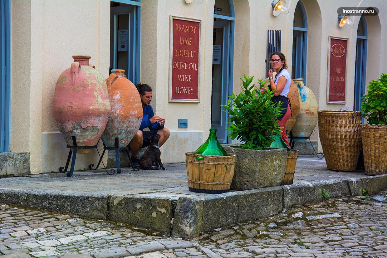Сувенирный магазин в Хорватии