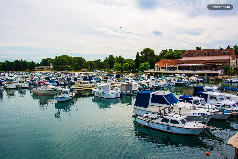 Традиционные лодки из Хорватии