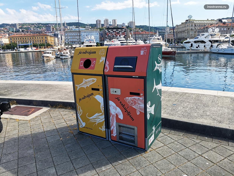 Красивый дизайн и оформление мусорных контейнеров